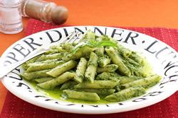 青醬義大利麵-西式料理