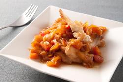 鳳梨乾燴雕魚-中華料理