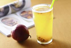 百香果綠茶-冰品飲料