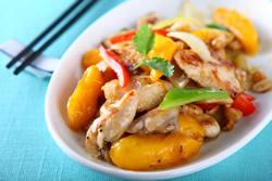 芒果雞柳-中華料理