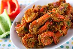 椰汁咖哩蝦-日韓南洋料理