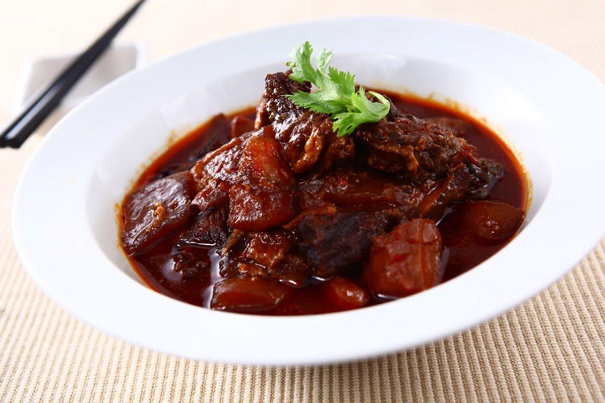 紅燒牛腩-中華料理