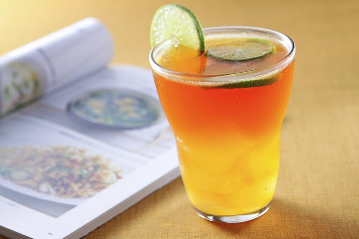 愛玉檸檬紅茶-冰品飲料