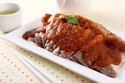蒜泥白肉-中華料理