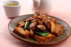 紅燒豆腐-中華料理