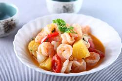 鳳梨蝦仁-日韓南洋料理