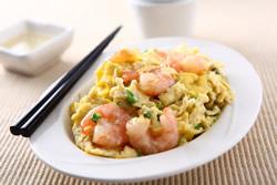 滑蛋蝦仁-中華料理