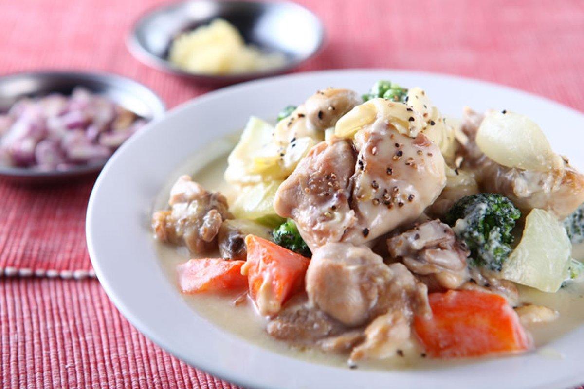優格燴雞腿-西式料理