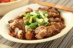 電鍋蒸豉汁排骨-中華料理