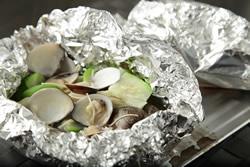 烤蛤蠣絲瓜