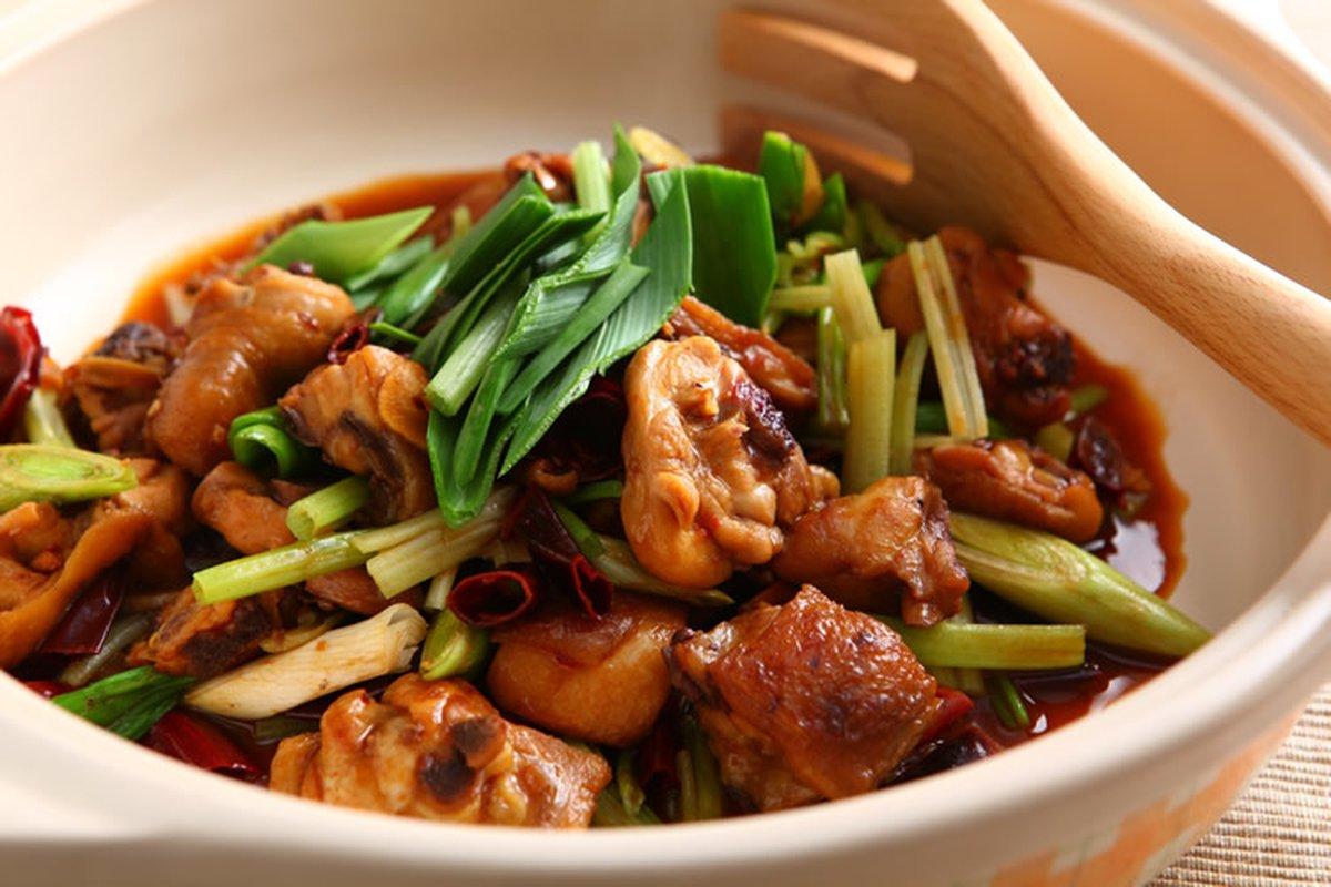 花雕雞-中華料理