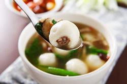 鹹湯圓-中華料理