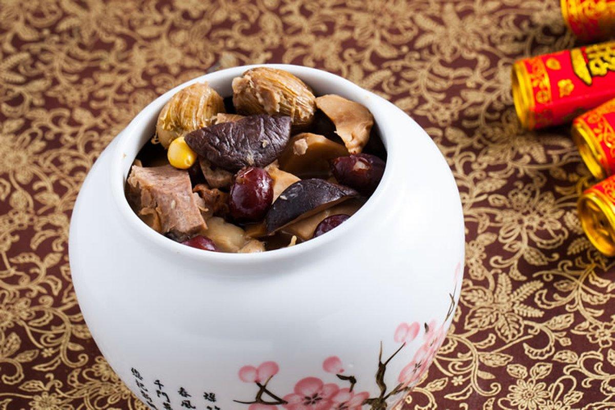 素佛跳橋-中華料理