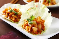 生菜蝦鬆-中華料理