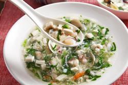 豆腐翡翠海鮮羹-中華料理
