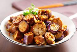 素魚香茄子-中華料理