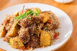 用烤箱做粉蒸肉-中華料理