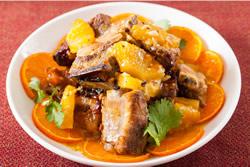 橙汁排骨-中華料理