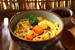 咖哩湯烏龍麵-日韓南洋料理
