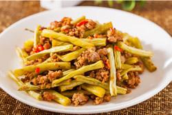 乾煸四季豆-中華料理