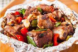 豆豉排骨-中華料理
