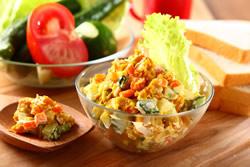 南瓜雞蛋沙拉-西式料理