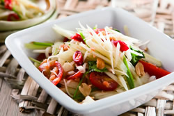 涼拌青木瓜-日韓南洋料理