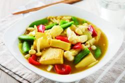 咖哩蕈菇豆腐-日韓南洋料理
