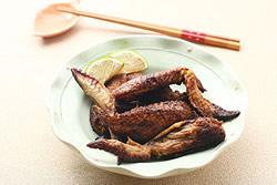 平底鍋烤焦糖雞翅-西式料理