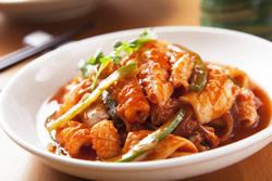 韓式辣醬魷魚-日韓南洋料理