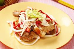 洋蔥檸汁雞-中華料理