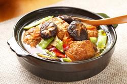 素燒獅子頭-中華料理