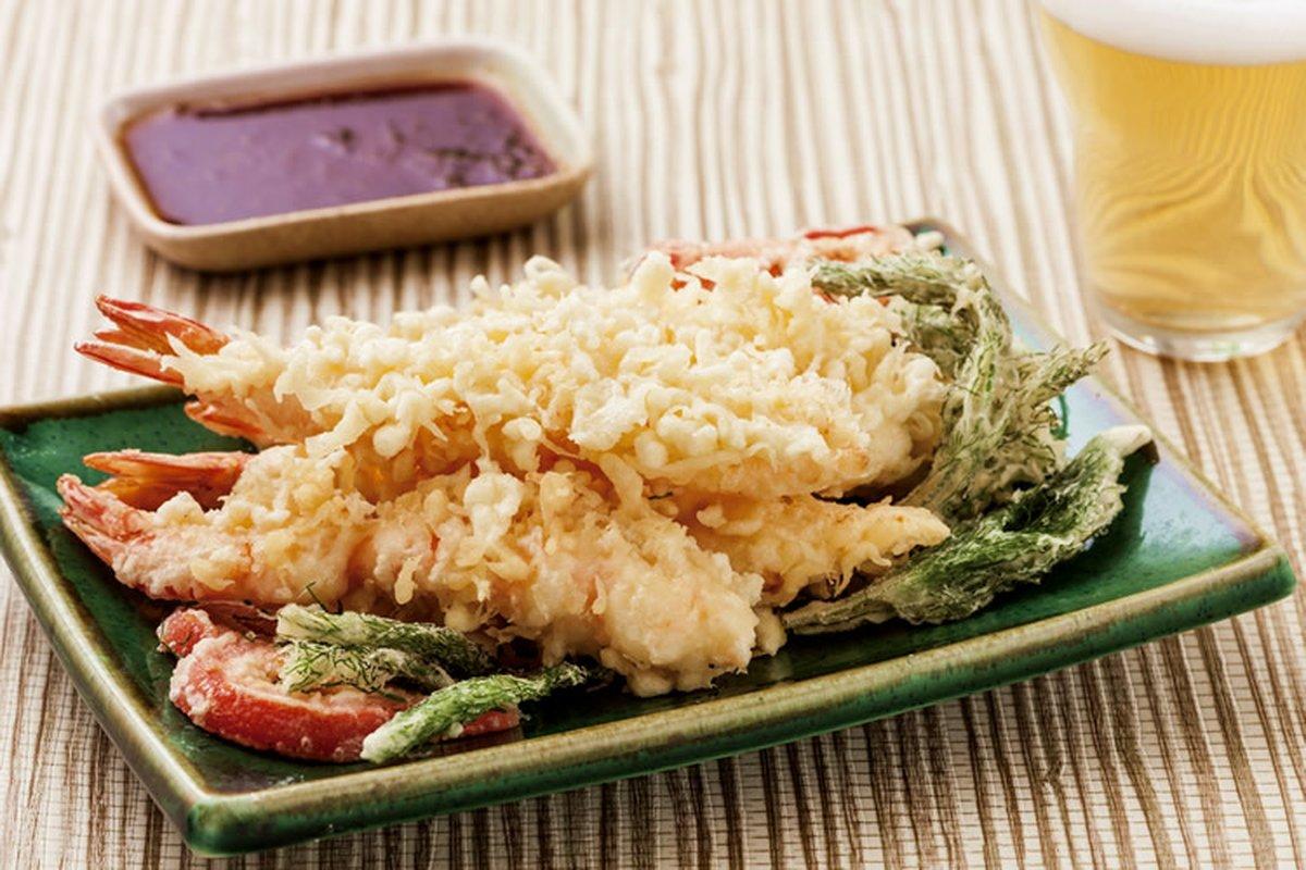 天婦羅炸蝦-日韓南洋料理