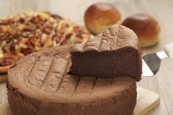 巧克力戚風蛋糕-烘焙
