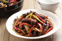 乾煸牛肉-中華料理