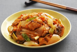 醋溜魚片-中華料理