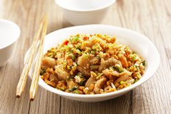 金沙蝦球-中華料理
