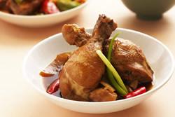 香辣滷雞腿 -中華料理