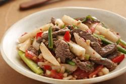 香梨牛肉拌莎莎醬-中華料理