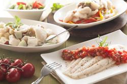 多利魚水煮三吃-中華料理