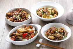 軟殼蟹蒸炒料理-中華料理
