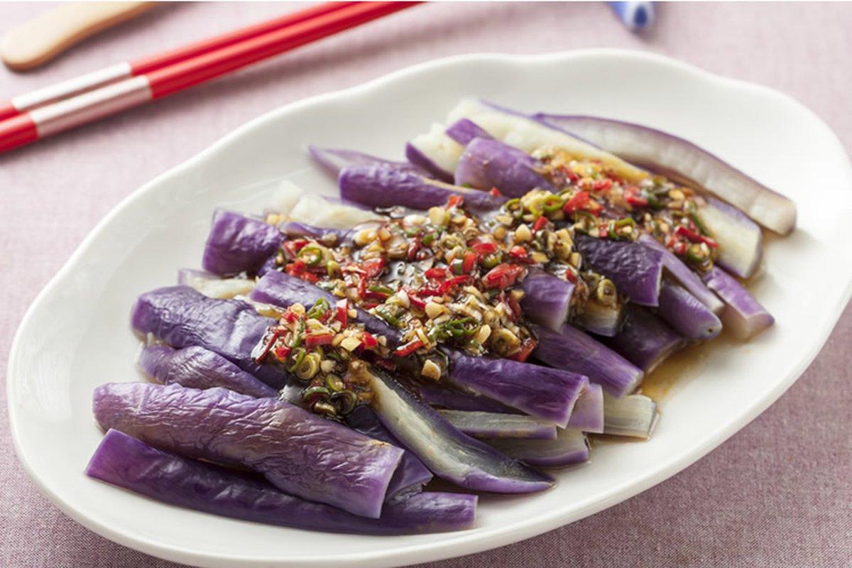 涼拌茄子-中華料理