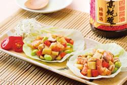 什蔬筍丁蝦鬆 -中華料理