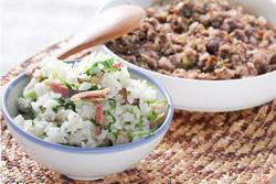上海菜飯+梅菜蒸肉餅 -中華料理