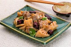 紅棗蓮藕蒸排骨 -中華料理