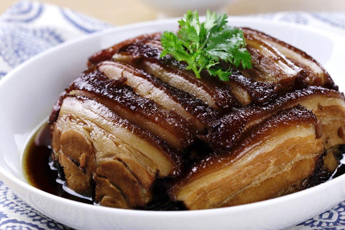 梅干扣肉超下飯 -中華料理