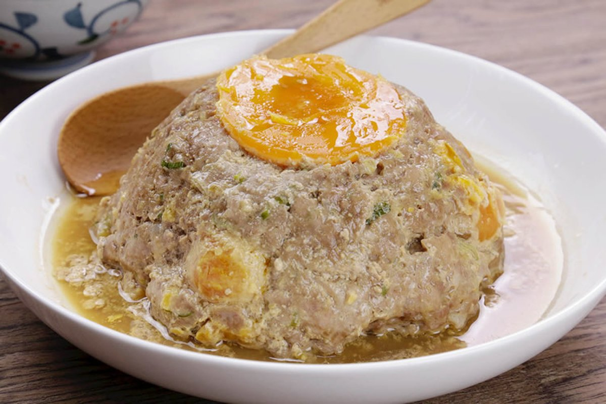 鹹蛋蒸肉真下飯