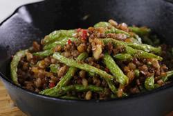 乾煸四季豆,成功關鍵在油-中華料理