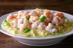滑蛋蝦仁,讚不絕口的好吃-中華料理