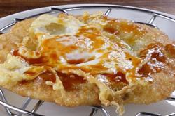 炸蛋蔥油餅,好吃威力爆表-中華料理